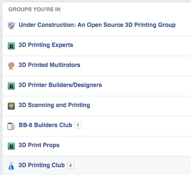 34 of the Best 3D Printing Facebook Groups
