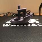 First Benchy without any settings tweaks came out surprisingly well!