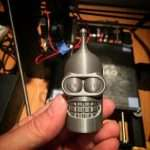 This Bender head was printed at 60mm/sec