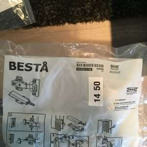 Besta Hinges (pack of 2)