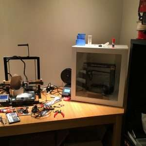 Cheap IKEA 3D printer enclosure for ABS printing