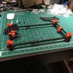 Finishing up the rods