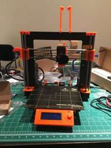 Original Prusa i3 Mk2 3d printer from Prusa Research