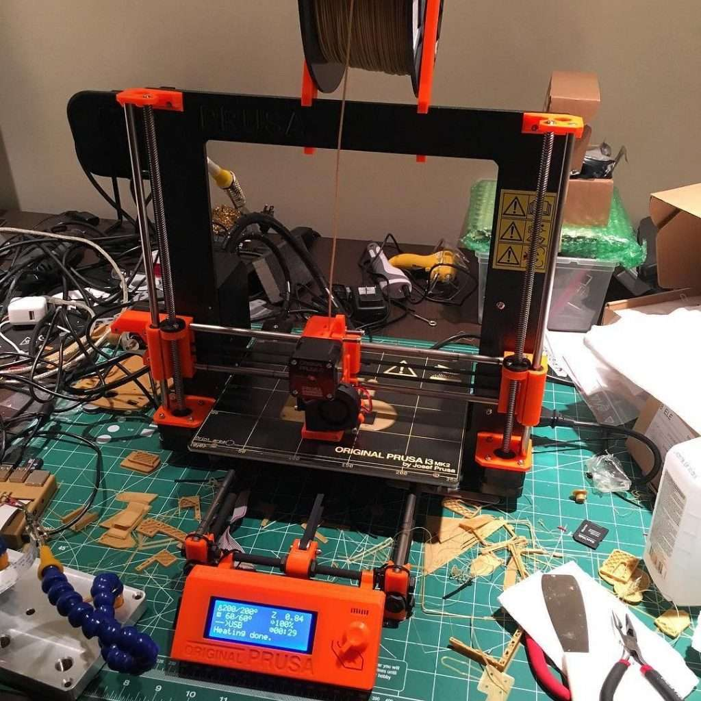 Original Prusa i3 Mk2 Build and First Impressions Review