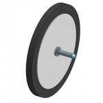Assembled wheel
