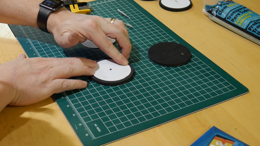 Easy (and Cheap!) Craft Foam Wheels for Robots and Toys