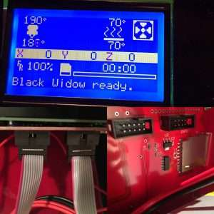 MKS LCD display blank/not working