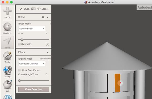 Meshmixer Tutorial - Using Meshmixer to Delete and Edit Parts of an
