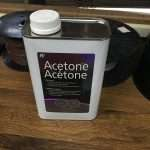 acetone for bonding parts
