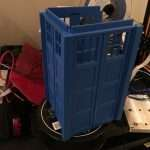 The Tardis slots together