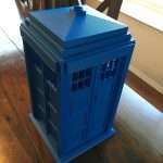Finished Iconic Tardis roof
