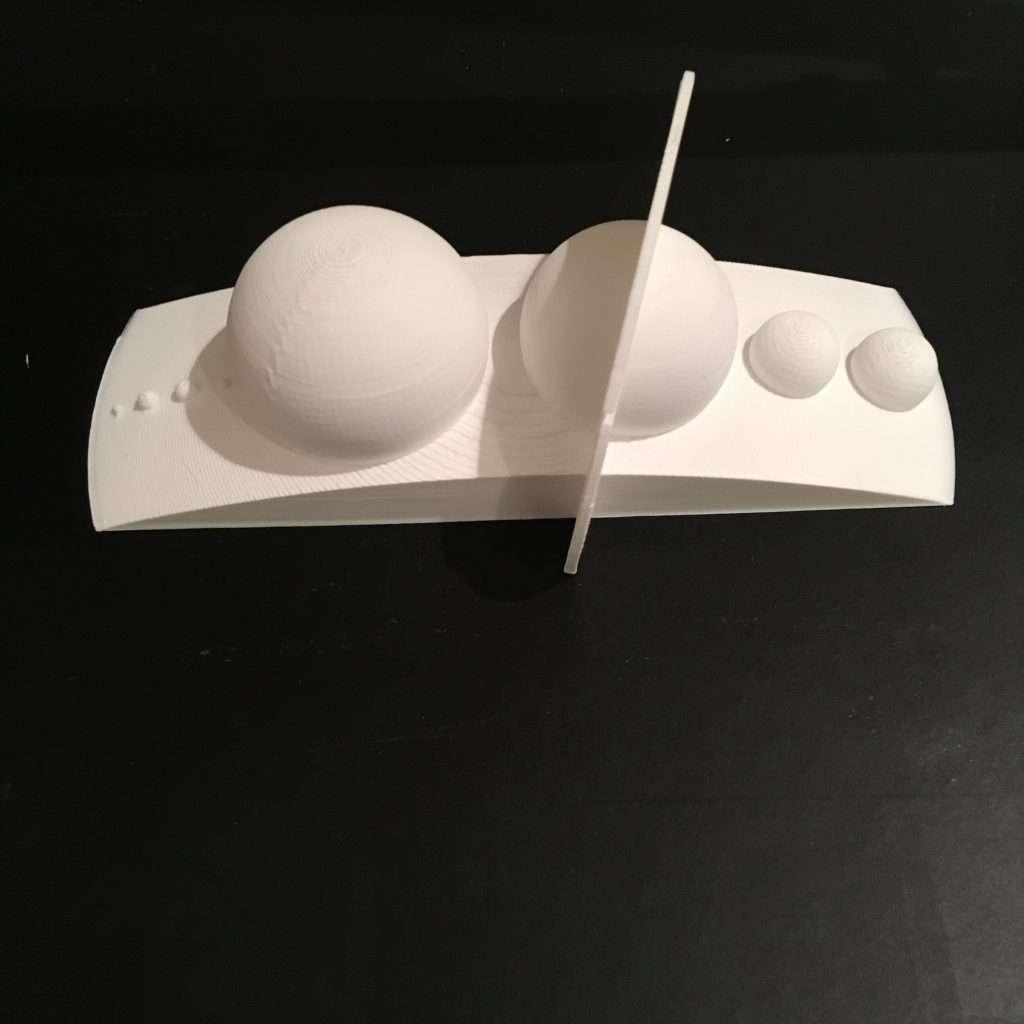 3D Printed (HIPS) Solar System