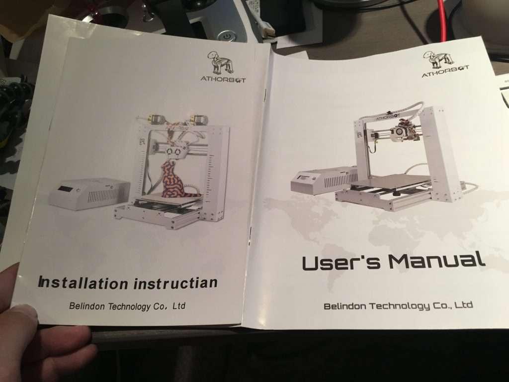 Athorbot instruction documents