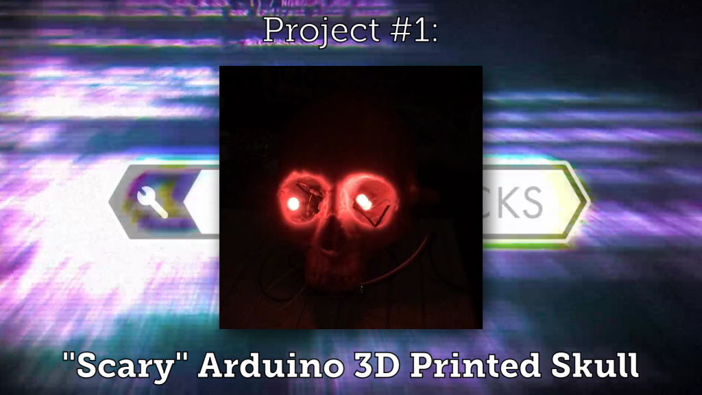 "3D Printed ""Spooky"" Arduino/Raspberry Pi Electronics Projects for Halloween 2017"