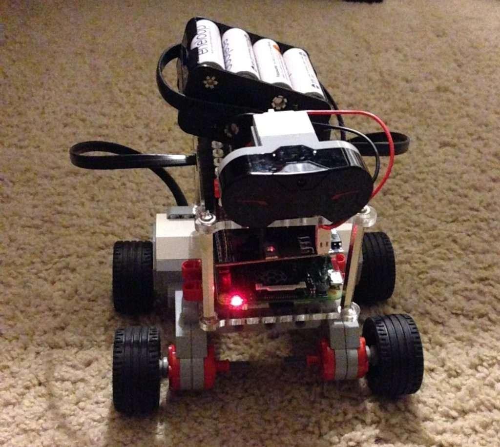 Pi Plus LEGO robot