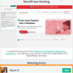 Win a Year of Premium Managed WordPress Hosting from StudioPress