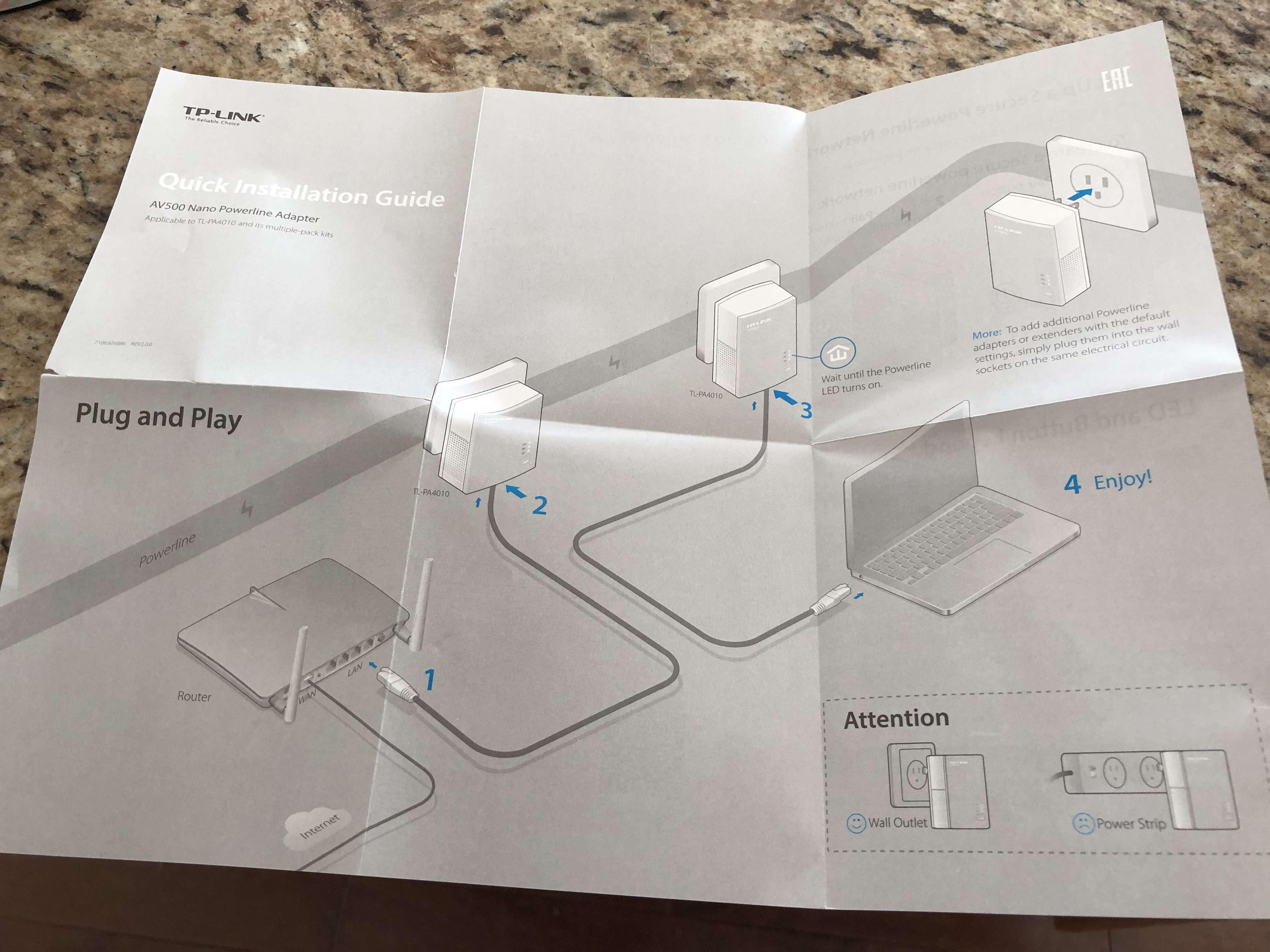 Cheap solution for WiFi dead spots - TP-Link PowerLine Ethernet
