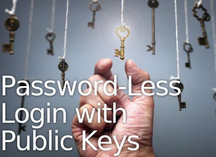 Password-Less SSH Login Linux