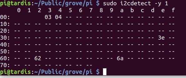 get i2c addresses in linux