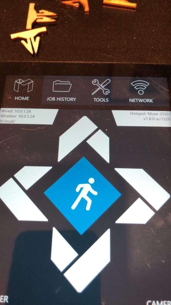 Colour Display Jog Controls