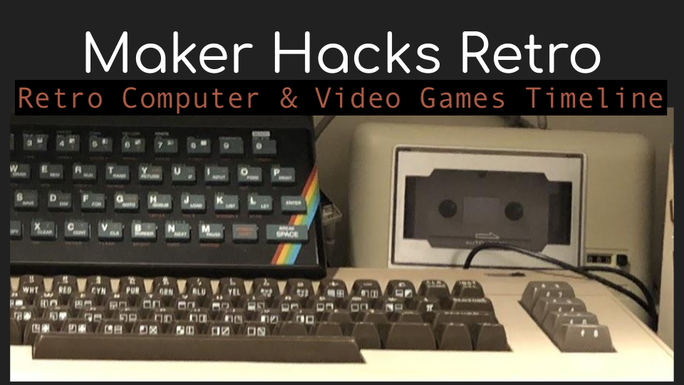 Retro Computer & Video Games Timeline